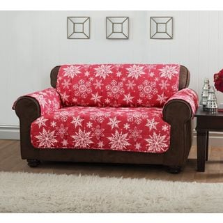 Innovative Textile Solutions Snowflake Loveseat Protector