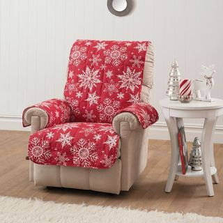 Innovative Textile Solutions Snowflake Recliner or Wing Chair Protector