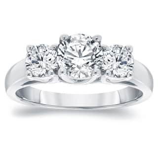 Auriya Platinum 2ct TDW Round Diamond 3-Stone Engagement Ring|https://ak1.ostkcdn.com/images/products/13213143/P19932045.jpg?impolicy=medium