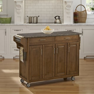 Create-a-Cart in Cottage Oak Finish by Home Styles
