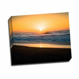 Picture It on Canvas 'Ocean Sunrise II' 20-inch x 16-inch Wrapped Canvas