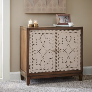 Madison Park Aubrey Multi Nailhead Accent Chest