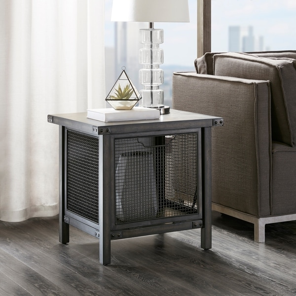 INK+IVY Cody Grey End Table