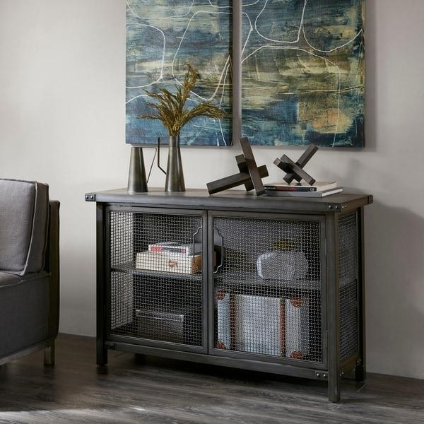 Carbon Loft Armisen Grey Sideboard Console