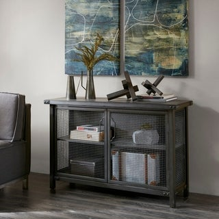 Exceptional INK+IVY Cody Grey Sideboard Console