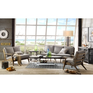 INK+IVY Malibu Grey Coffee Table