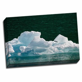 Picture It on Canvas 'Iceberg I' 24x16 Wrapped Canvas