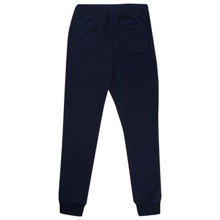 French Toast Boy's Navy Cotton and Fleece Jogger Pants