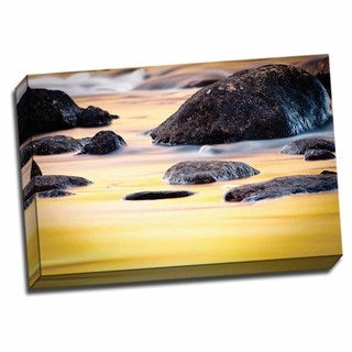 Picture It on Canvas 'Fall Reflections II' Wrapped Canvas