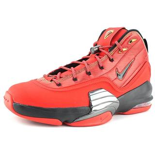 Nike Men's 'Pippen 6' Red Leather Athletic Shoes