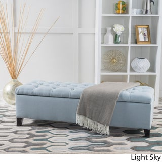 Ottilie Fabric Storage Ottoman by Christopher Knight Home (3 options available)