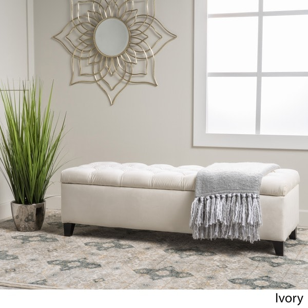 Miraculous Buy Off White Ottomans Storage Ottomans Online At Onthecornerstone Fun Painted Chair Ideas Images Onthecornerstoneorg