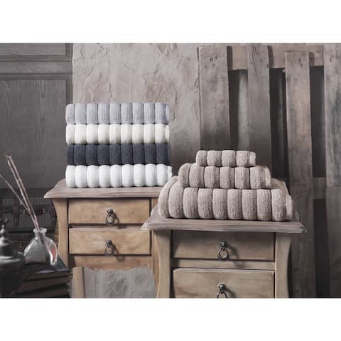 Strick & Bolton Hines 100-percent Turkish Micro Cotton Wash Cloths 4-piece Set - Washcloths 12 x 12