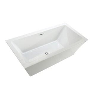 Maliboo 6817 Modern Freestanding Acrylic Bathtub