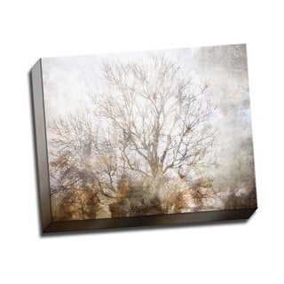 Picture It on Canvas 'Winter in Champagne' Gallery-wrapped Canvas Wall Art