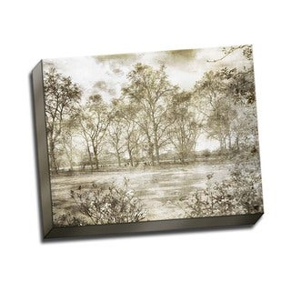 Picture It on Canvas 'Hyde Park II' Gallery-wrapped Canvas Wall Art