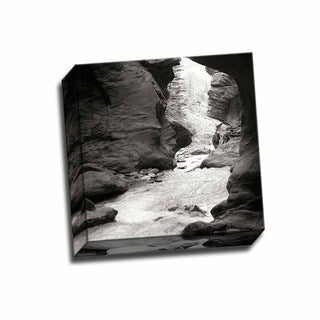 Picture It on Canvas 'Box Canyon IV' 12-inch x 12-inch Wrapped Canvas Art