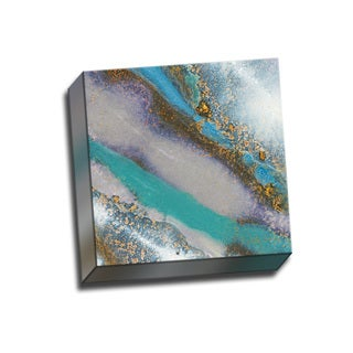Picture It on Canvas 'Blue Marble A' Wrapped Canvas Art