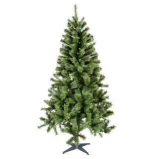 Green Plastic 6-foot Christmas Tree