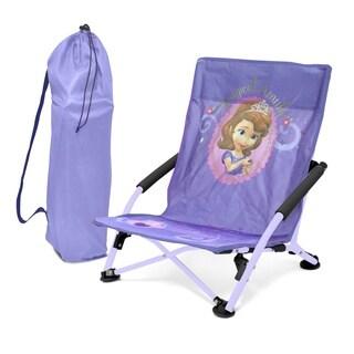 Disney Purple/ Pink Plastic Folding Lounge Chair