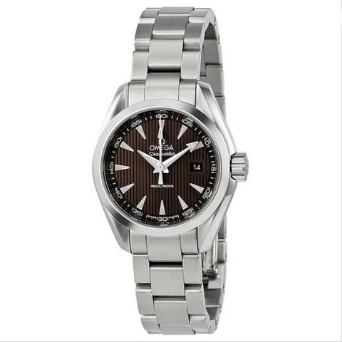 Omega Women's O23110306006001 'Seamaster Aqua Terra' Stainless Steel Watch