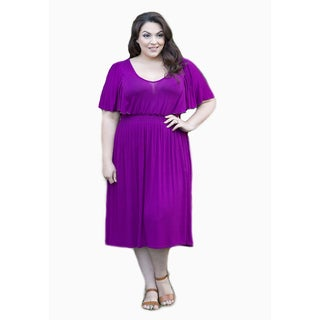 Sealed with a Kiss Women's Plus Size Pam Dress (As Is Item)