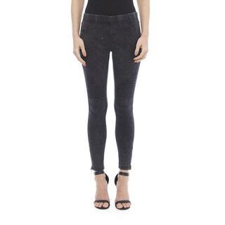 Beulah Moto Stretch Legging