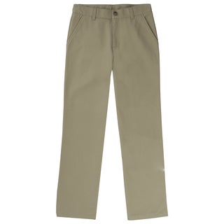 French Toast Boy's Khaki Twill Straight Leg Pants