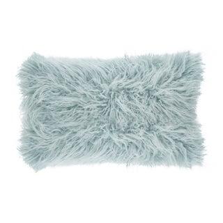 Mongolian Faux Fur Throw Pillow