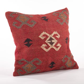 Kilim Design Down Filled Throw Pillow