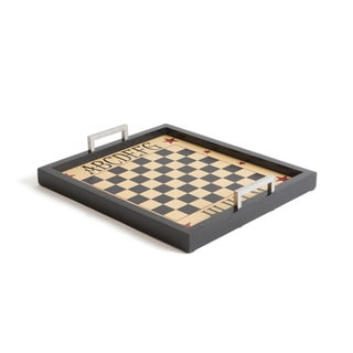 Hip Vintage Wood Chess Tray