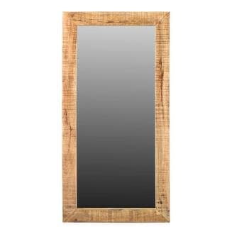 Handmade Agra Mango Wood Mirror (India)