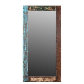 Timbergirl Agra Old Reclaimed wood Mirror (India)