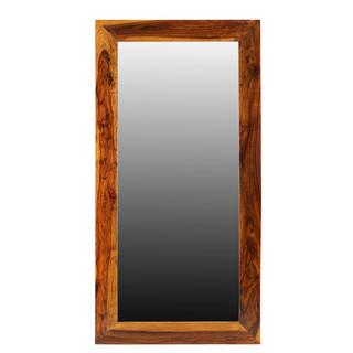 Timbergirl Agra Seesham wood Mirror (India)