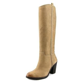 Lucky Brand Women's 'Ebbie' Brown Leather Knee-high Boots