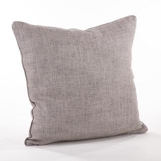 Piped Edge Denier Throw Pillow