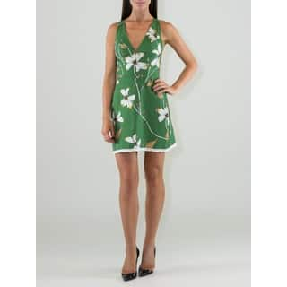 Women's Floral Design V-neck Sheath Dress|https://ak1.ostkcdn.com/images/products/13218852/P19936994.jpg?impolicy=medium