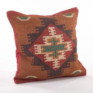 Kilim Design Down Filled Throw Pillow