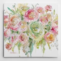 Wexford Home Graceful Bouquet Gallery-wrapped Canvas
