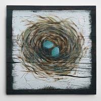 Wexford Home 'Stained Nest' Premium Gallery-wrapped Canvas