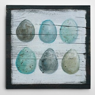 Wexford Home Carol Robinson 'Stained Eggs' Premium Gallery-wrapped Giclee Canvas