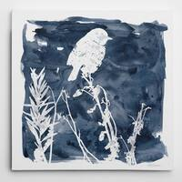 Wexford Home 'Indigo Bird I' Gallery Wrapped Canvas Wall Art