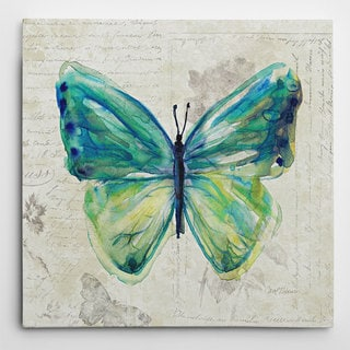 Wexford Home 'Butterfly Sketch IV' Wrapped Canvas