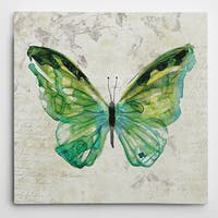 Wexford Home Carol Robinson 'Butterfly Sketch III' Wrapped Canvas Art