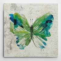 Wexford Home 'Butterfly Sketch I' Multicolored Canvas Artwork