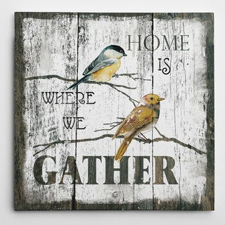 Wexford Home Carol Robinson 'Gather Home' Wall Art