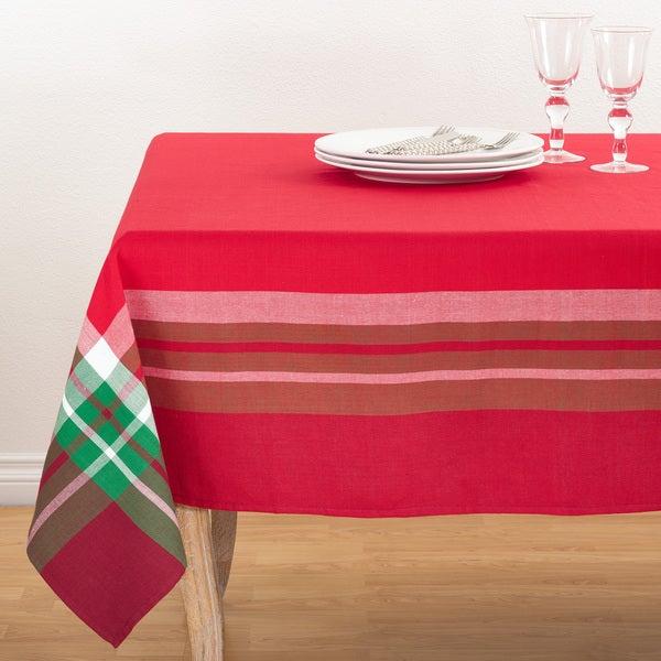 Tartan Design Tablecloth