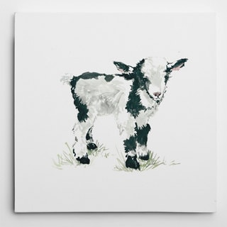 Wexford Home Carl Robinson's 'Baby Goat' Multicolored Canvas Artwork