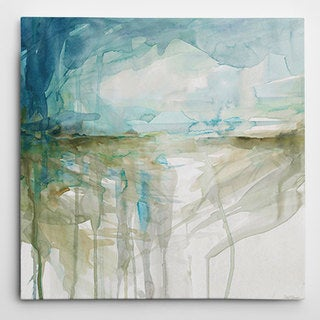 Wexford Home 'Spring Glacier' Gallery-Wrapped Canvas
