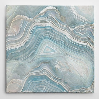 Wexford Home 'Agate in Blue I' Premium Gallery-wrapped Canvas Wall Art
